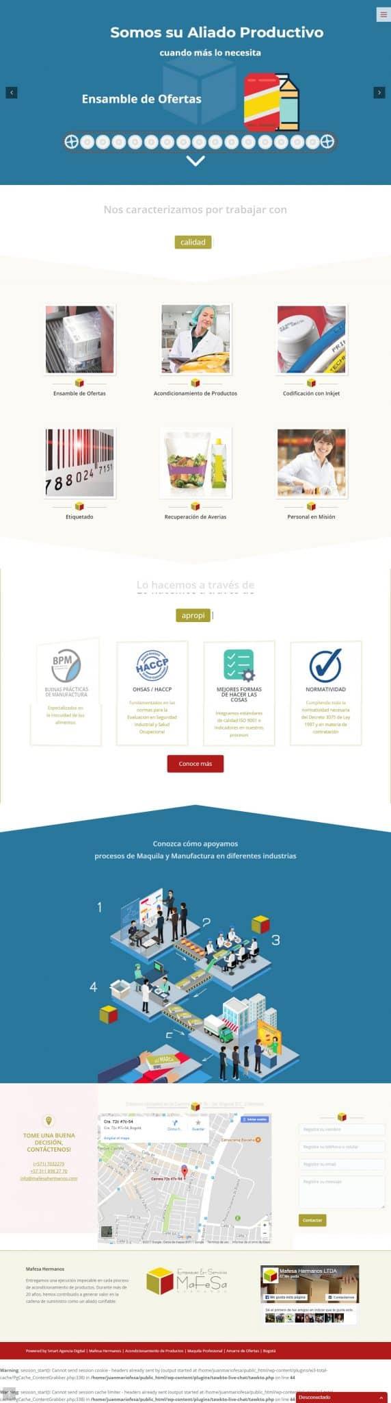 diseno paginas web colombia