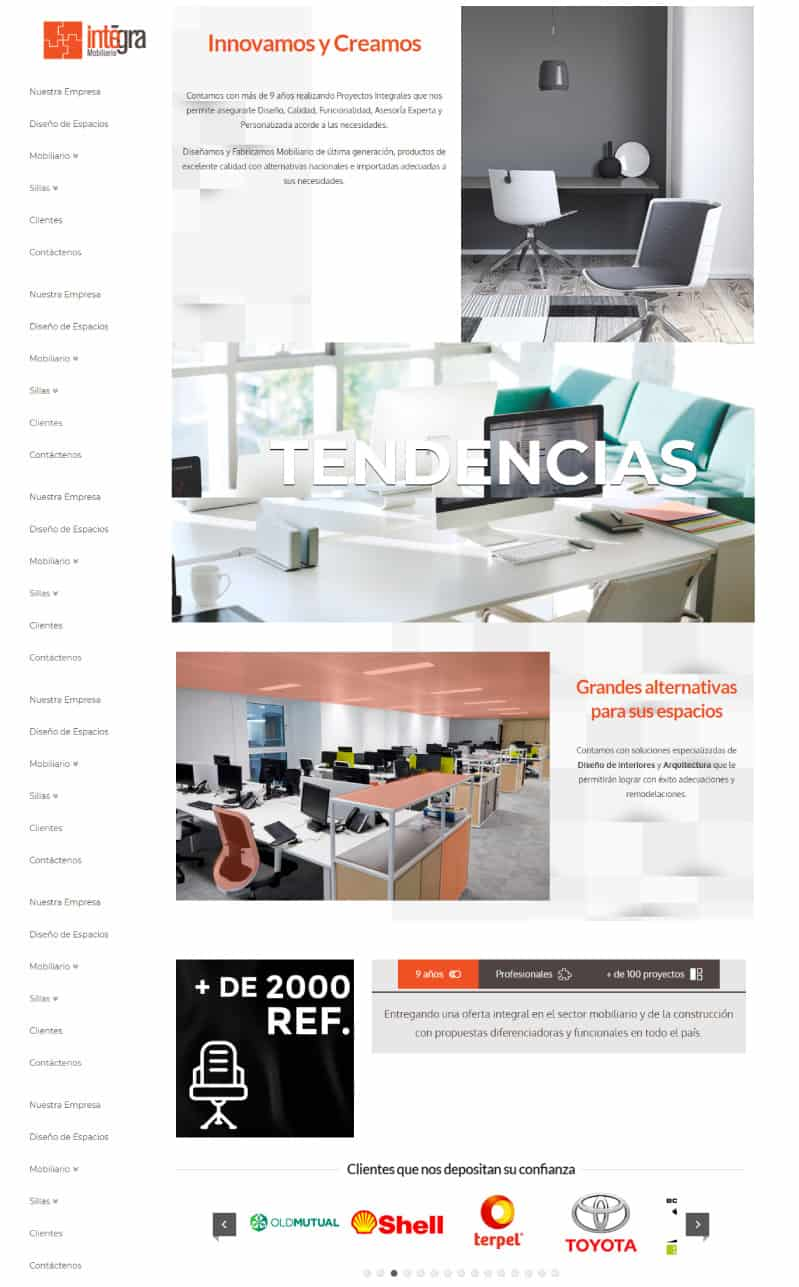 mobiliario corporativo oficina