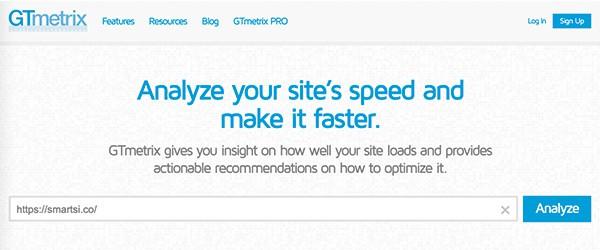 velocidad gtmetrix